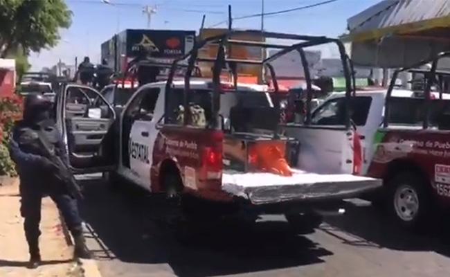 SSP y Guardia Nacional realizan operativo en mercado Morelos