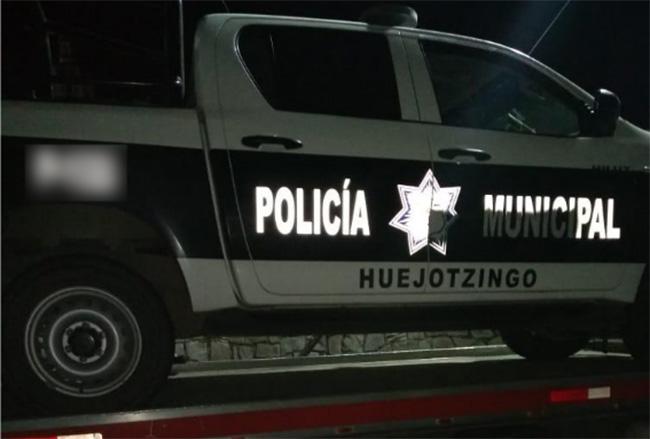 Otra vez, patrulla de Huejotzingo involucrada en choque