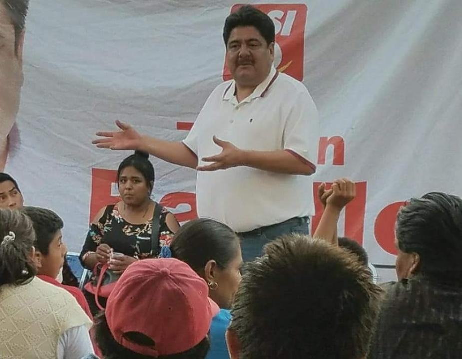 Balean casa del candidato del PSI en Tochtepec