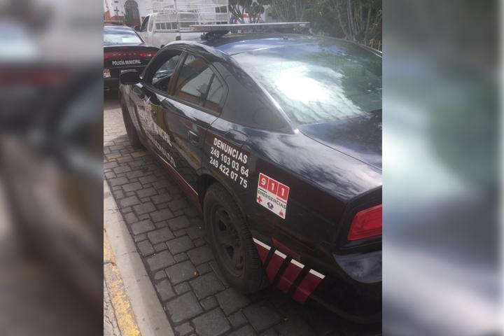 Por balacera cercan zócalo de Techamachalco; hay dos detenidos