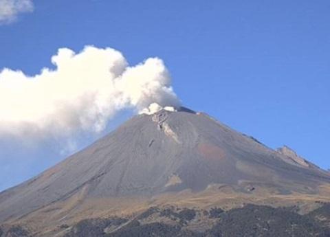 Habrá simulacros en comunidades aledañas al volcán: SGG