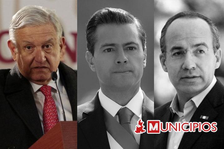 Peña Nieto y Calderón deberán comparecer tras dichos de Lozoya: AMLO