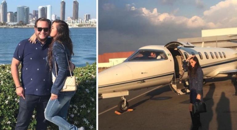 Entre Jets privados y viajes: la vida del hijo y la nuera de AMLO