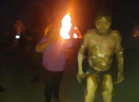 Amigos de juerga le prendieron fuego en la capital poblana