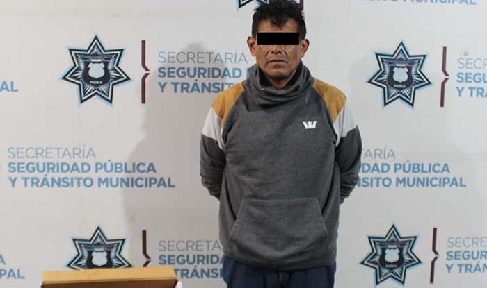 Cae El Moreno, multiasaltante de Oxxos en Puebla capital