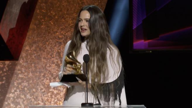 Rosalía y Alejandro Sanz, primeros galardonados en Grammys 2020