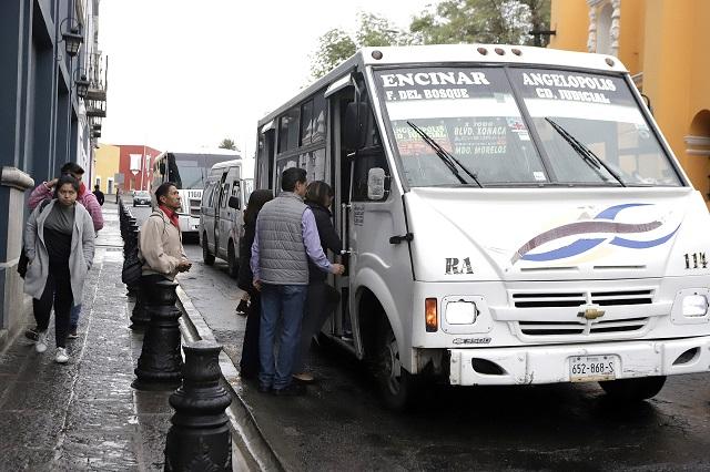 Barbosa alista nuevas reglas para modernizar y equipar el transporte público