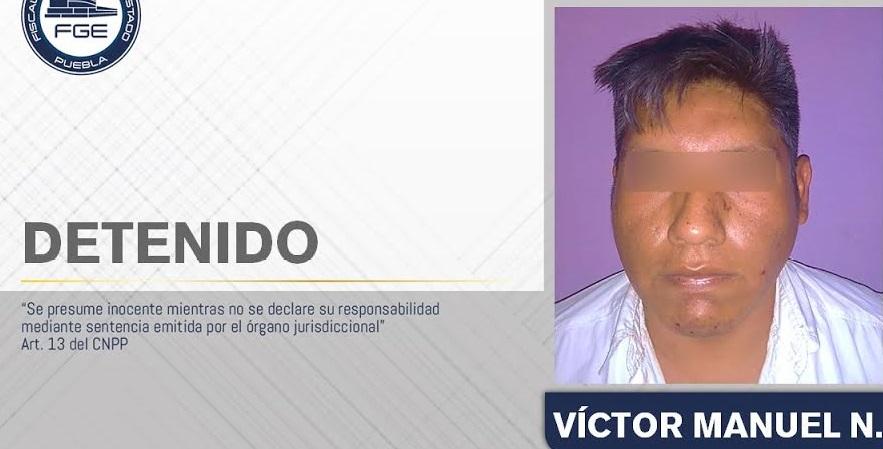 Víctor Manuel simuló en Xonacatepec el suicidio de su pareja Abigail