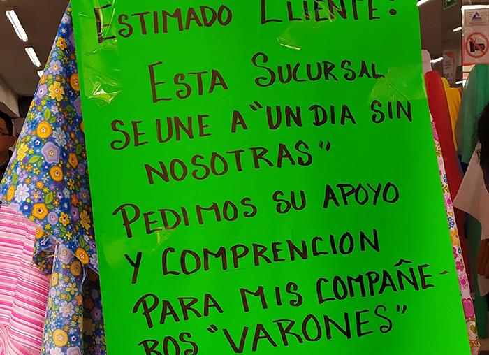Mujeres de Huauchinango y Xicotepec se sumaron al paro nacional