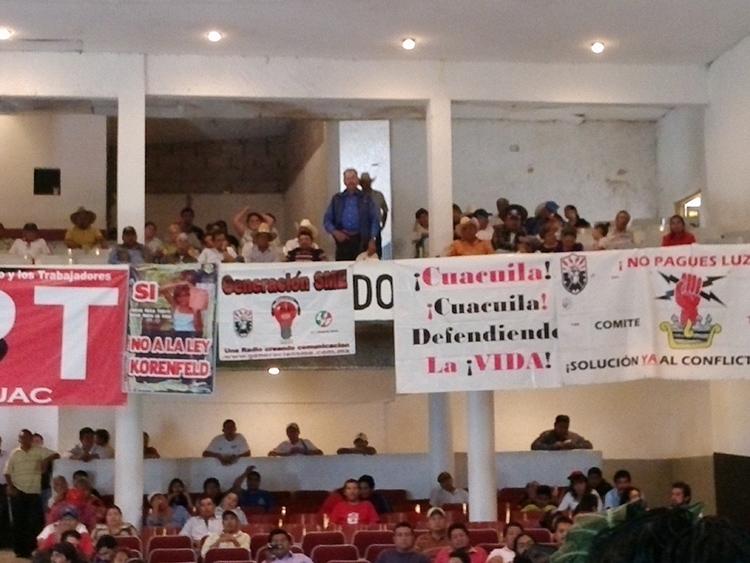 Se pronuncia SME en contra de proyectos de explotación en Puebla