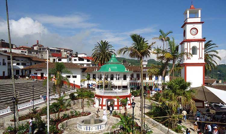Zocalo de Cuetzalan