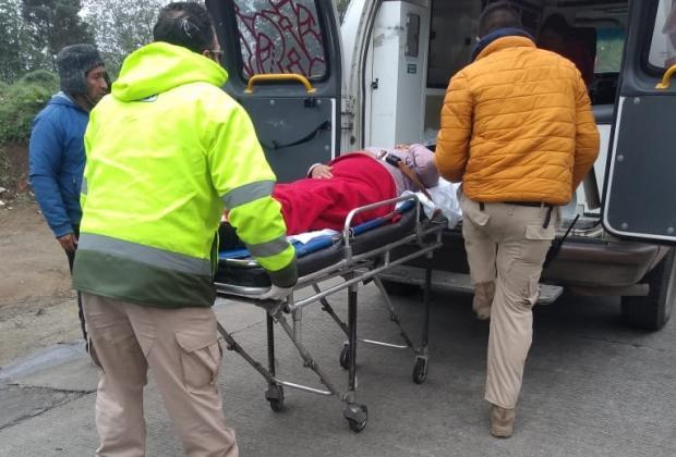 Adolescente da a luz a una bebé en carretera de Teziutlán