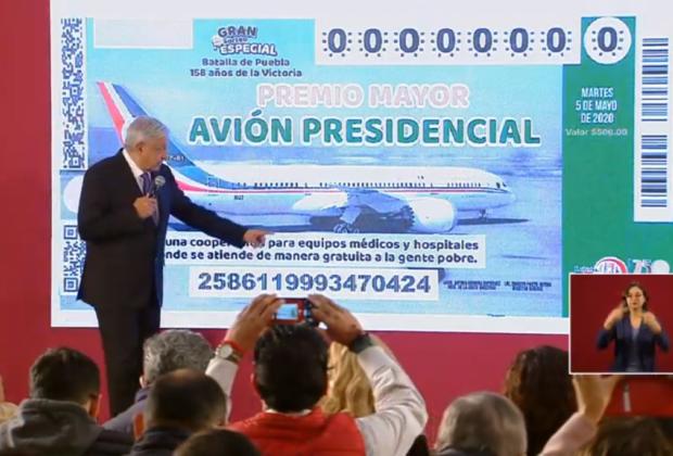 Liga AMLO boleto del avión presidencial con la Batalla de Puebla