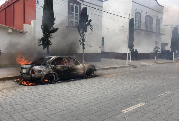 Hay denuncias contra responsables de disturbios en Amozoc: Barbosa