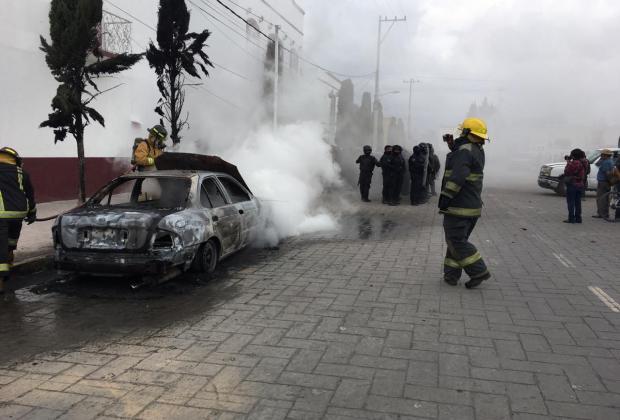 Delegados de Gobernación participaron en quema de patrullas en Amozoc: Barbosa