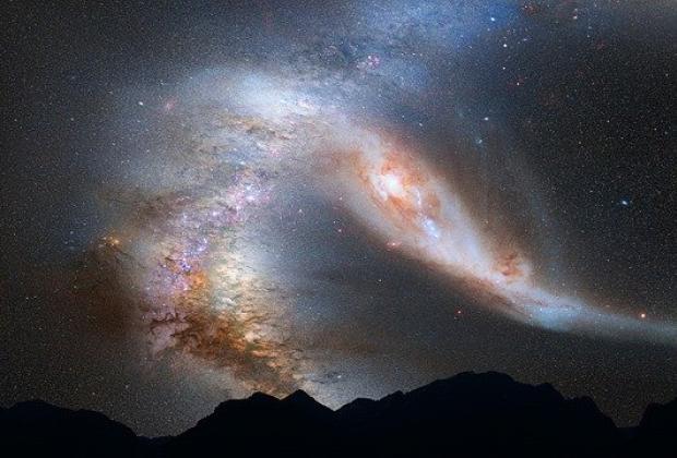 En otra galaxia descubren que hay oxígeno respirable