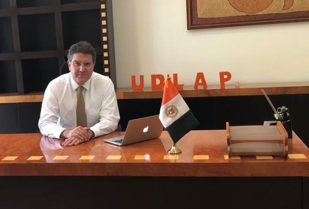 Pago de colegiaturas irá a becas y salarios en la UDLAP: Ríos Piter