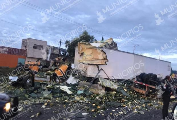 Permanece cerrada autopista Puebla-Orizaba en los dos sentidos