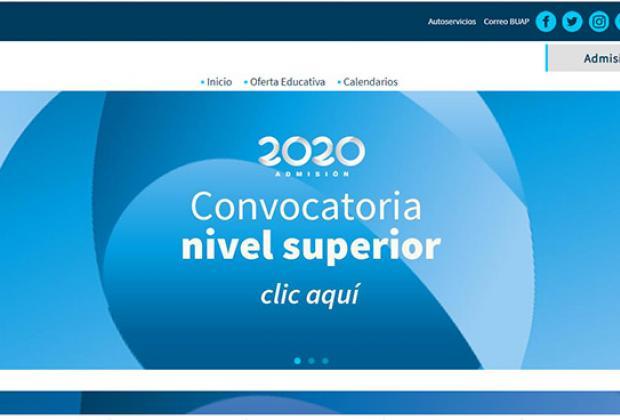 Publica BUAP convocatoria de Admisión 2020