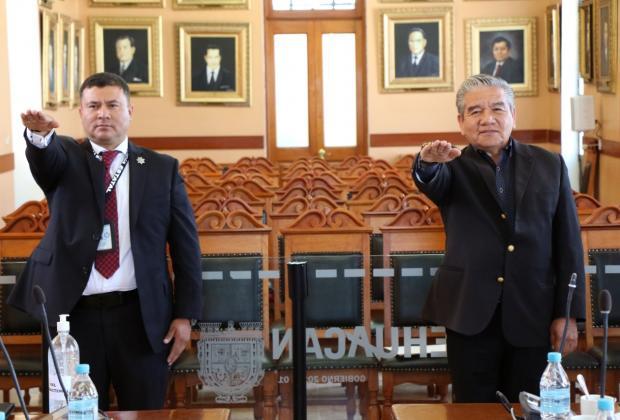 Cabildo nombra a nuevo titular de Seguridad en Tehuacán