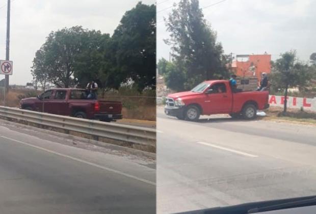 Hombres armados de la Fiscalía generan pánico en Puebla
