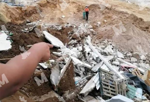 Lluvia colapsa viviendas en fraccionamiento de Teziutlán