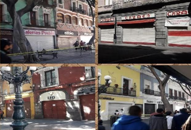 VIDEO Abre el comercio en Puebla, pero descansará los fines de semana