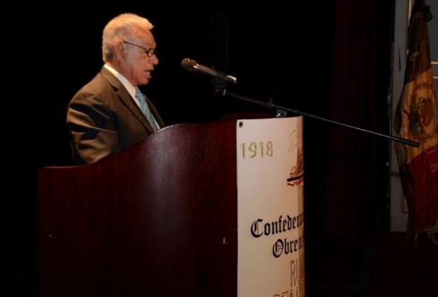 Muere Leonardo Contreras Cisneros, líder de la CROM en Puebla