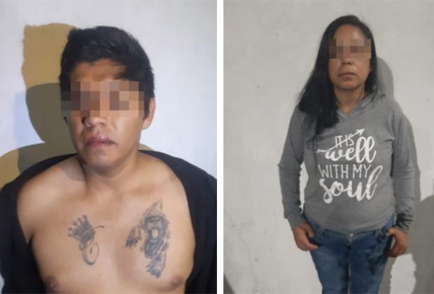 Cae pareja con medio millón de pesos en droga en Puebla capital