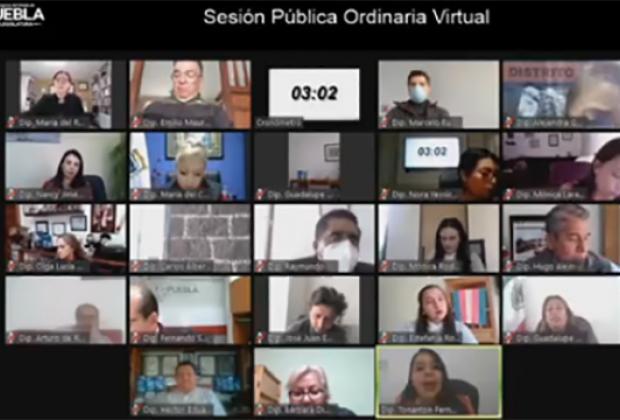 Morena, PT y PES aplazan votación de Ley Agnes en Puebla