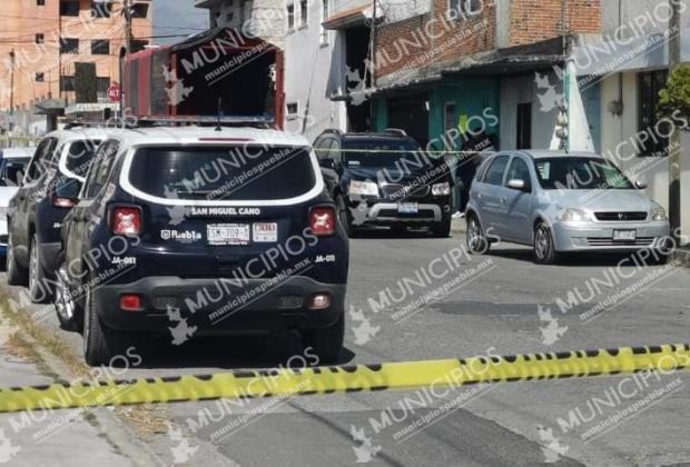Joven se dispara con escopeta en la mandíbula tras discutir con su esposa en Puebla