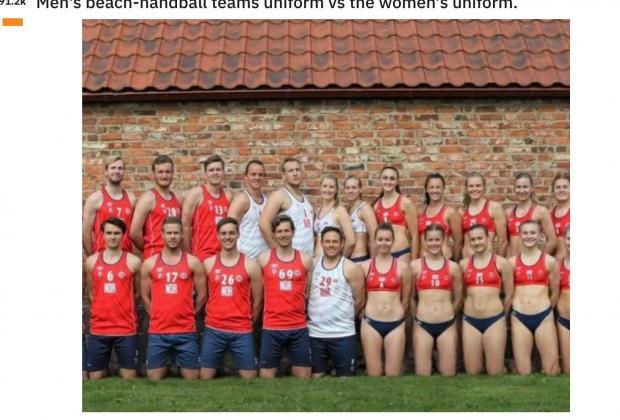 Pink pagará multa de jugadoras noruegas que se negaron a usar bikini