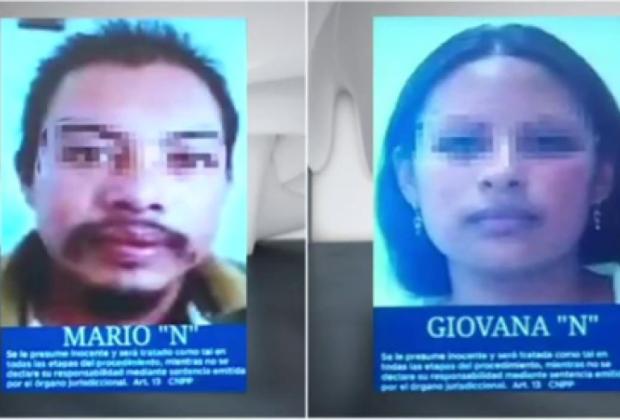 VIDEO Así fue la detención de Giovana y Mario Alberto