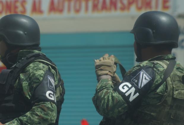 Pobladores de Tecamachalco retienen a Guardia Nacional durante operativo
