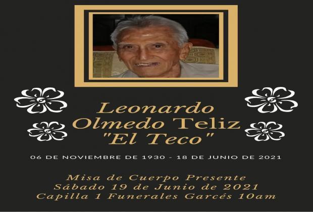 Murió El Teco Olmedo, ícono del futbol en Atlixco