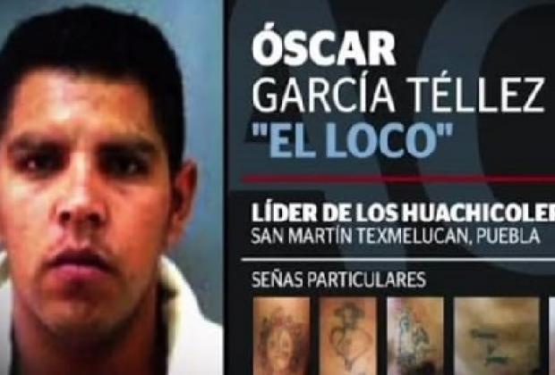 Detienen a El Loco Téllez, líder huachicolero de Texmelucan
