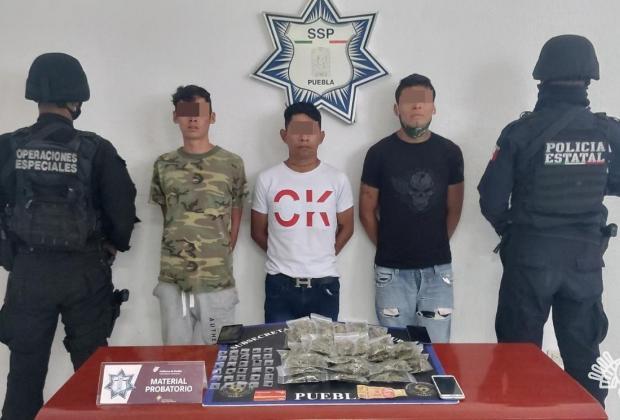 Ellos son Los chulos de El Alto, acusados de delitos de alto impacto