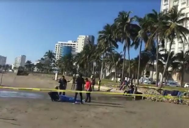 Poblano fue al carnaval y terminó ahogado en playa de Veracruz