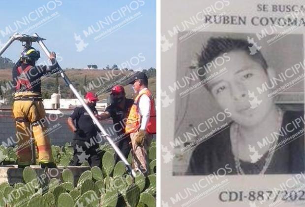 Hallan en pozo de Cholula el cadáver de Rubén; estaba desaparecido