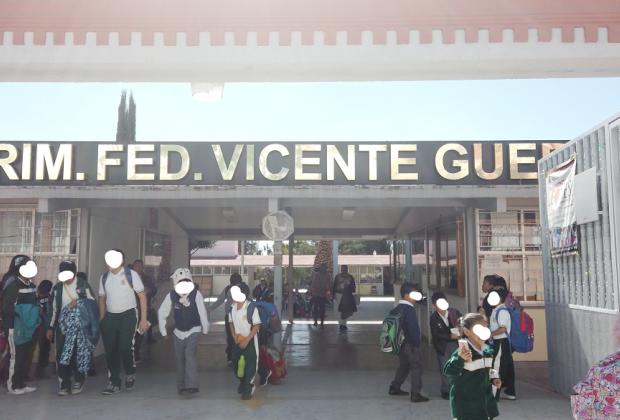 Difunden audio sobre robo de menor en escuela de Tecamachalco