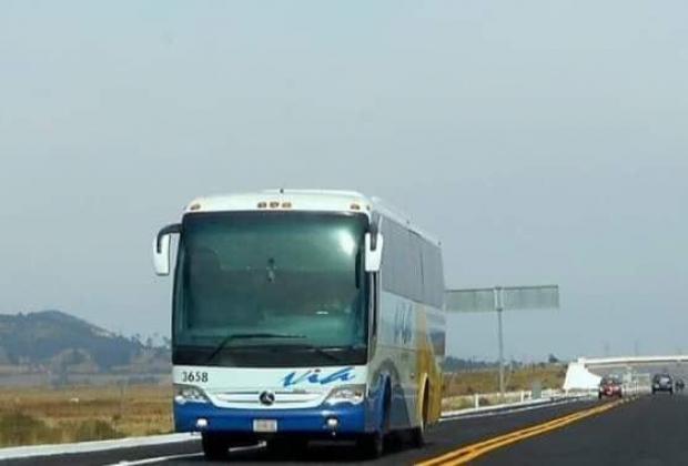 Asaltan otro autobús de la línea VÍA y lesionan a pasajero en Libres