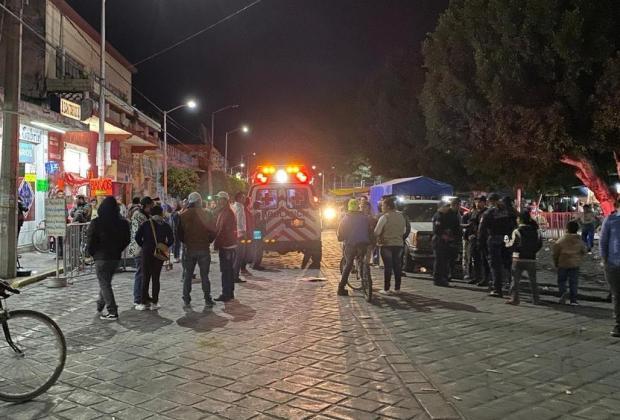 Acribillan a turista de Cdmx en día de Carnaval en Huejotzingo