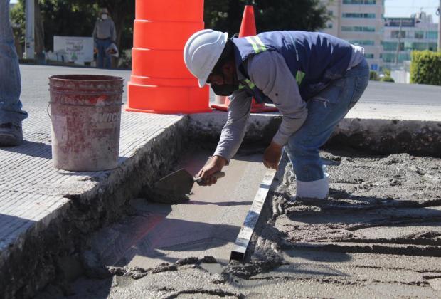 Invierte Gobierno de la Ciudad 2.4 mdp para reparar calles de Puebla