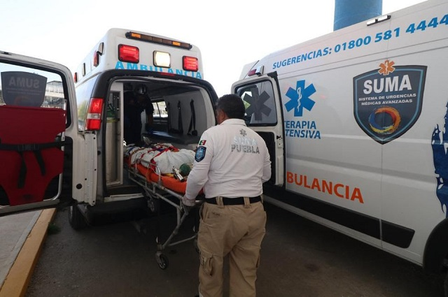 Niño muere frente a su padre en Tecali por el impacto de dos motocicletas