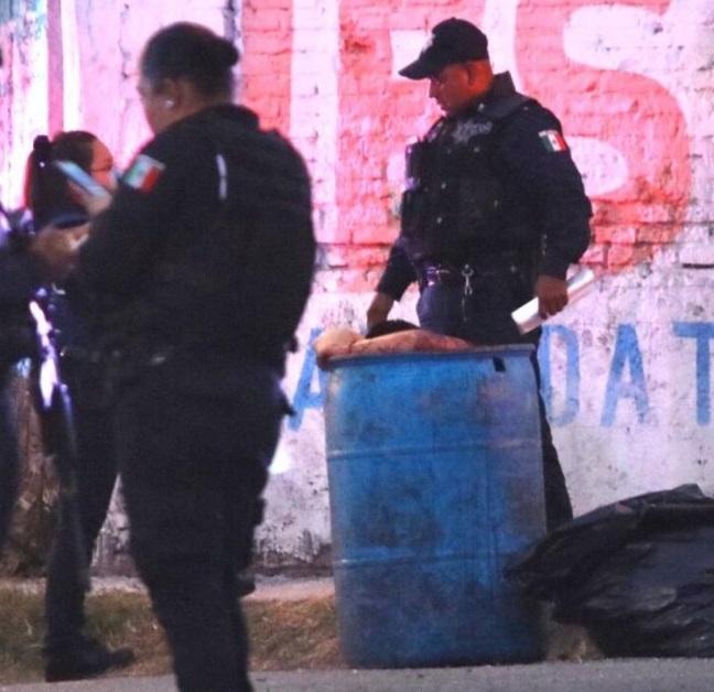 Encuentran entambado en La Loma; lo lincharon