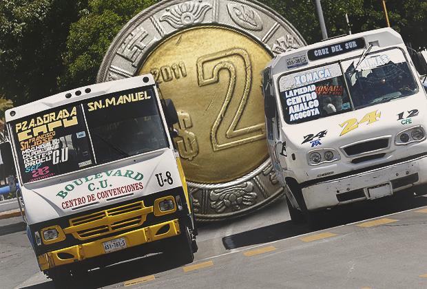 Confirma concesionario que alza al transporte sería de 2 pesos