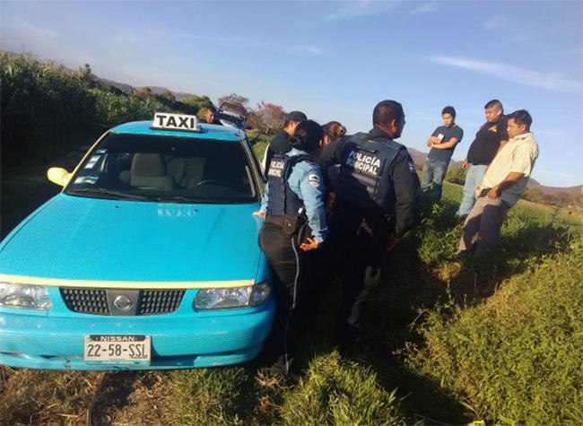 Nuevamente asaltan y golpean a taxista de Atlixco