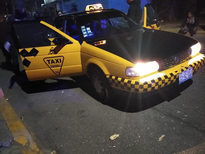 Asesinan a joven taxista en Santa Clara Ocoyucan