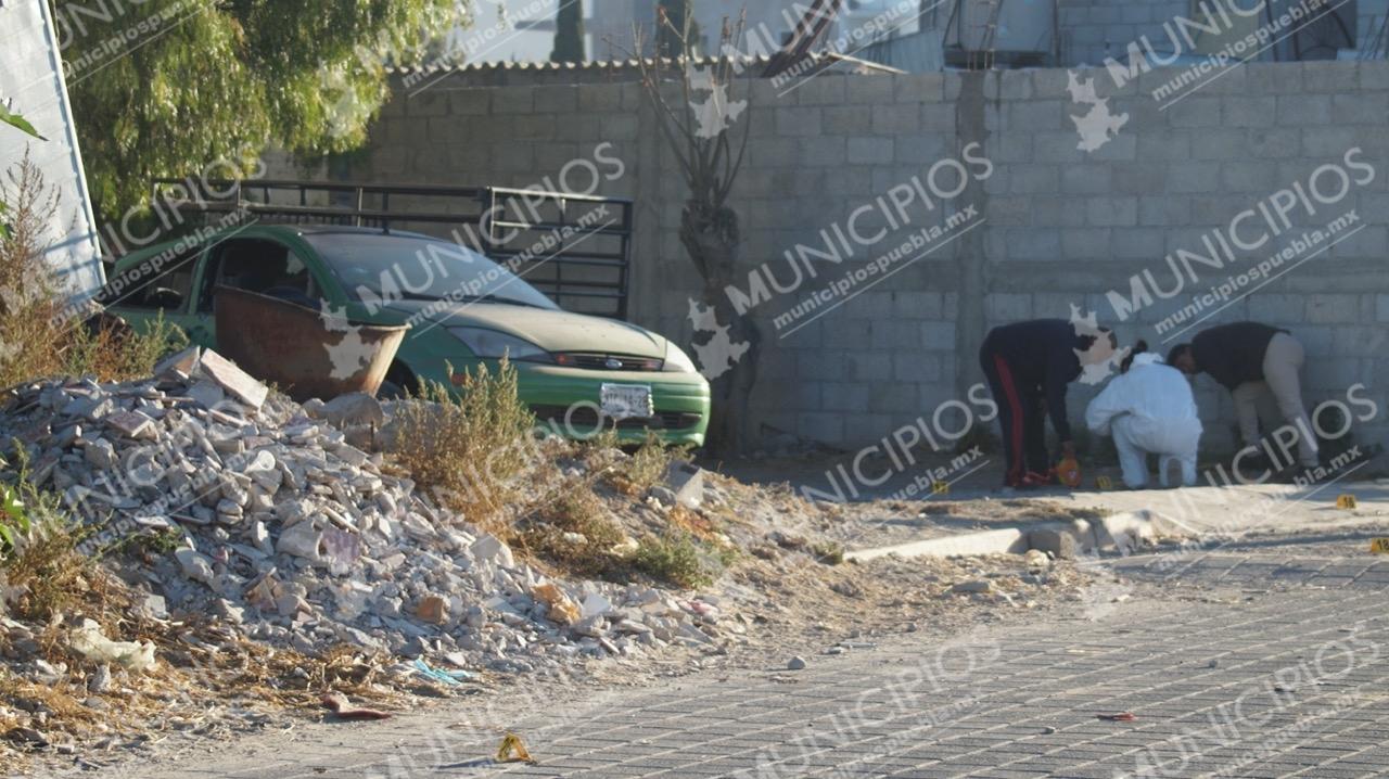 Asesinan a mujer en Tecamachalco en el barrio de San Nicolás