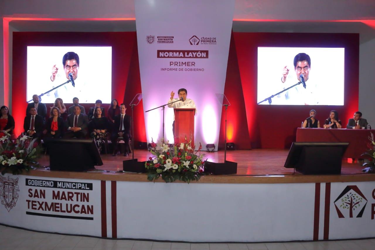 Texmelucan es el principal caldero de inseguridad del estado: Barbosa